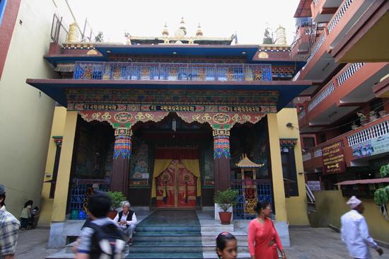 Tempel in Bodhnath -0510