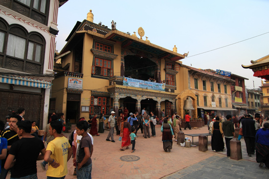 Centrum van Bodhnath-0520