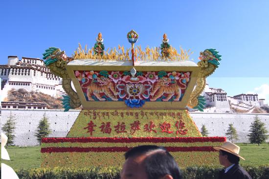 Potala Paleis in Lhasa Tibet-1040