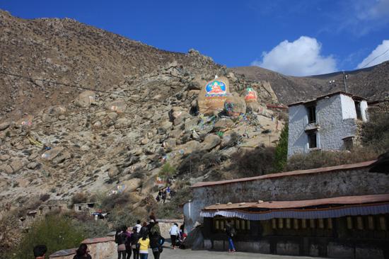 Drepung klooster - 8 km ten westen van Lhasa. Een van de grootste kloosters ter wereld (1416)-1070